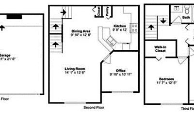 Bathroom, 3000 Legacy Villas Dr, 2