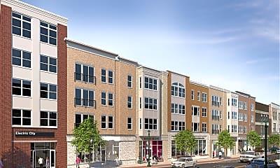 Building, Electric City Apartments, 1