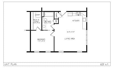 Bedroom, 278 Washington St, 2