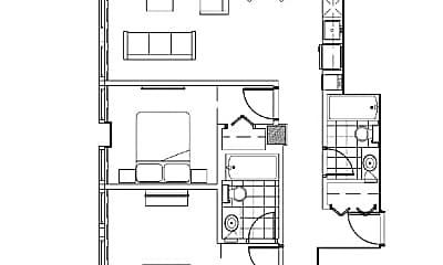 Building, 100 N 17th St, 2
