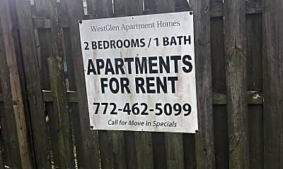 West Glen Apartments, 1