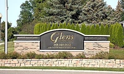 Community Signage, Glens Of Northville, 0