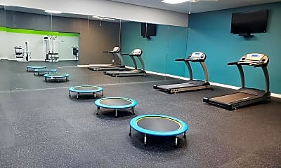 Fitness Weight Room, South Pointe, 2