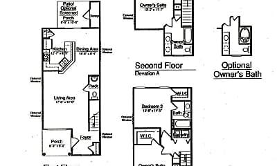 Bedroom, 246 Station Mill Blvd, 2
