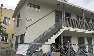 Building, 1426 Alvarado Terrace, 1