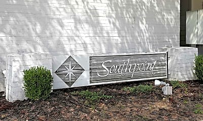 Community Signage, Southpoint Apartments, 2