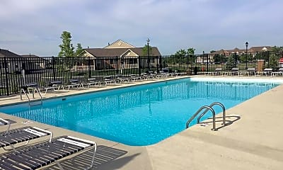 Pool, Shawnee Lakes Apartments, 2