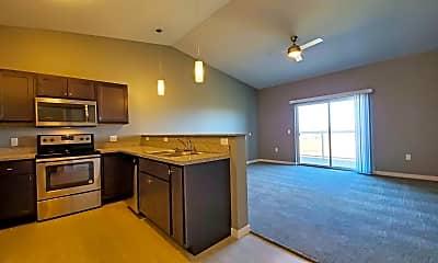 Kitchen, Graystone Heights, 1