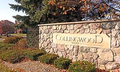 Community Signage, Collingwood Village, 2