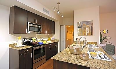Kitchen, Casa Brera Apartments, 1