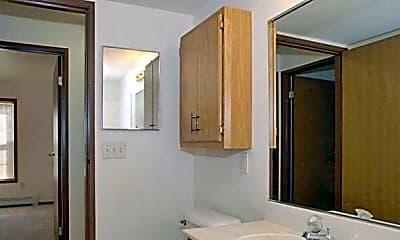 Bathroom, Deerfield Village Apartments, 2