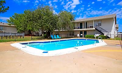 Pool, Brock Creek Apartments, 0