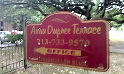 Anna Dupree Terrace, 1