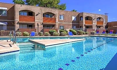 Pool, College Town Tucson, 0