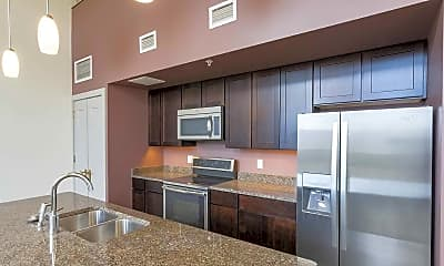 Kitchen, Masonic Hall Apartments, 1