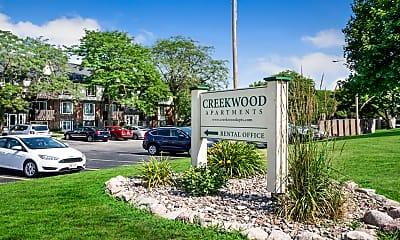 Community Signage, Creekwood Apartments, 0