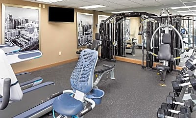 Fitness Weight Room, Twenty & Grand, 2