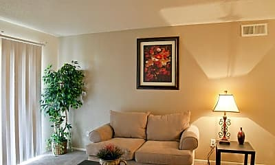 Living Room, Ashley Park Apartments, 1