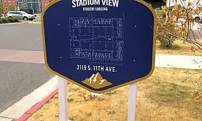 Stadium View Student Apartments, 1