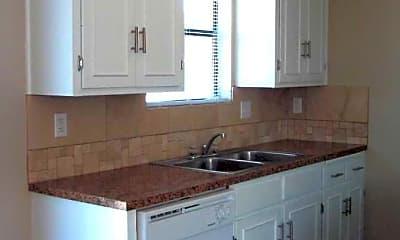 Kitchen, Pine Creek Apartments, 2