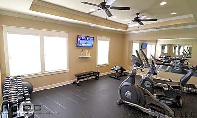 Fitness Weight Room, Pickens Bridge Village, 1