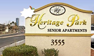 Community Signage, Heritage Park, 2