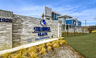 Community Signage, Stillhouse Flats, 2