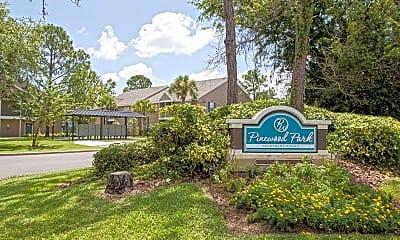 Community Signage, Pinewood Park Apartments, 2