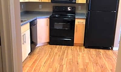 Kitchen, Mandan Place Apartments, 1