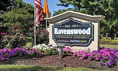 Community Signage, Ravenswood Townhouses and Apartments, 1
