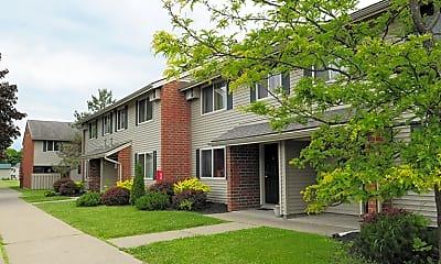 Building, Park Drive Manor Apartments, 1