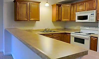 Kitchen, Washington Square Apartments, 1