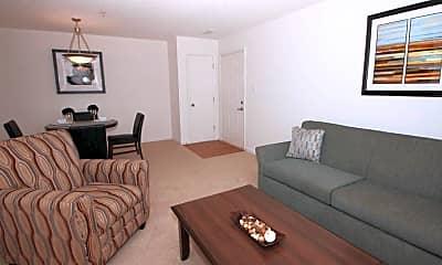 Living Room, Bridgeport Apartments, 1