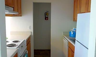 Kitchen, Castlewood Apartments, 1