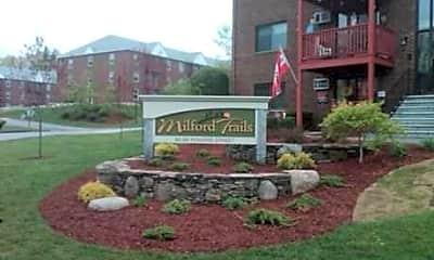 Community Signage, Milford Trails Apartments & Storage, 0