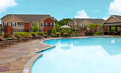 Pool, Villas At Houston Levee East and West, 0