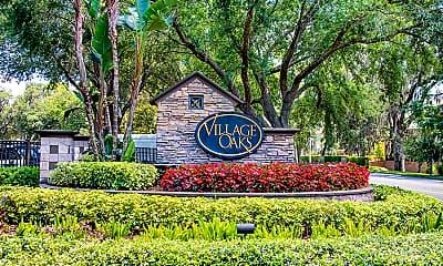 Community Signage, Village Oaks, 2