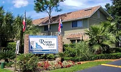 Building, Rocky Point, 1