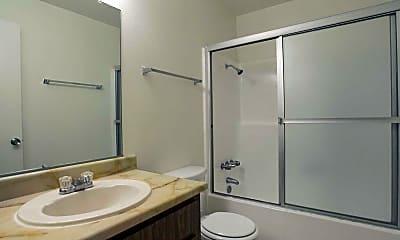 Bathroom, Pebble Brook Apartments, 2