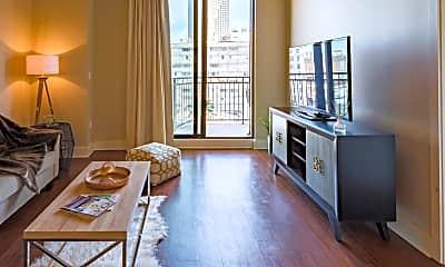 Living Room, 144 Elk Luxury Lofts, 1