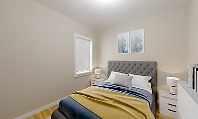 Bedroom, 393 Washington St., #1, 0