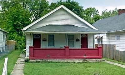 Building, 1356 N Gale Street, 1
