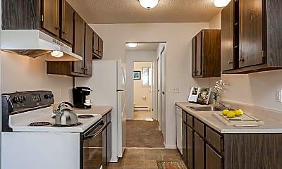 Kitchen, Parkway Manor Apartments, 1