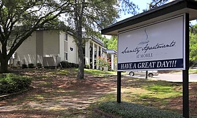 Community Signage, Serenity Apartments At Mobile, 2