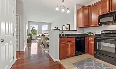 Kitchen, Clayborne Apartments, 0