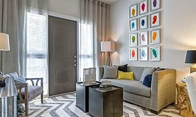 Living Room, The Monroe, 1