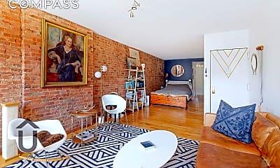 Living Room, 309 E 104th St 4-W, 1