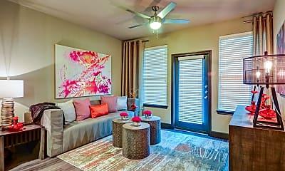 Living Room, North Creek Apartments, 1