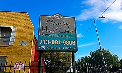 Houston West Lake Apartments, 1