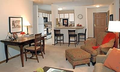 Living Room, Creekside Apartment Homes, 0
